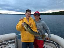 Excellent Walleye and Panfish Fishing
